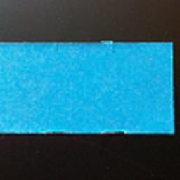 Etiket 3719 blauw permanent 25.000