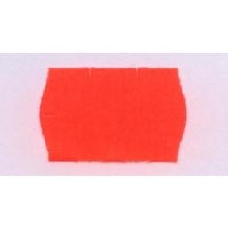 Etiket 2616 fl.rood perm veiligheidssnit
