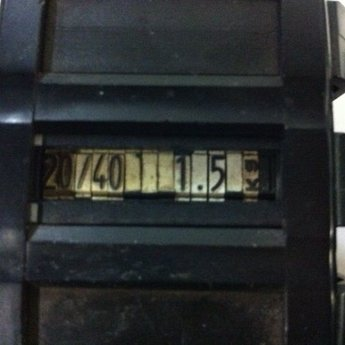 Blitz Prijstang Blitz 37x28 met 1 regel met 11 vette cijfers in het midden Volgende instelling moet mogelijk zijn: 20/401231.56kg