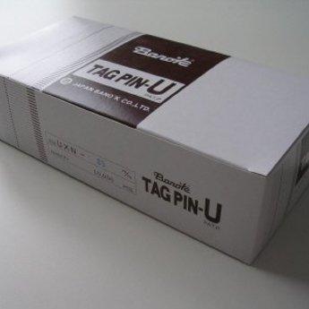 Banok Banok-textielpins 35mm fijn nylon 100 per clip, doosinhoud 10.000. Type UXN 35mm