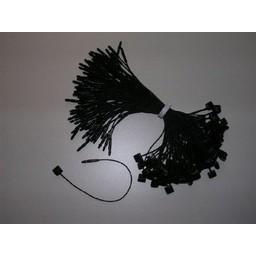 Koordsluiting 200 mm zwart  1000
