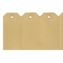 Labels 55x110 mm geel             1000st