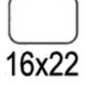 Apli Apli-nr. 01864  mapje universele permanente etiketten 16x22 mm - 990st (nieuwe verp.eenheid)