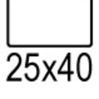 Apli Apli-nr. 01871 mapje universele permanent etiketten  25x40 mm - 375st