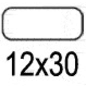 Apli Apli-nr. 01861  mapje universele permanente etiketten  12x30 mm - 1155st