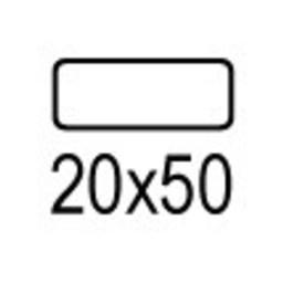 Apli Apli mapje permanent 20x50 mm - 476st