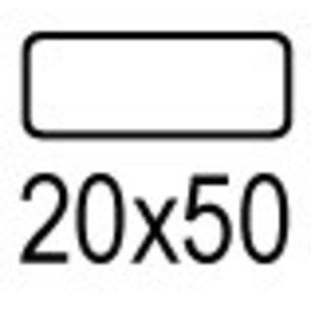 Apli Apli-nr. 01867  mapje universele permanente etiketten  20x50 mm - 476st