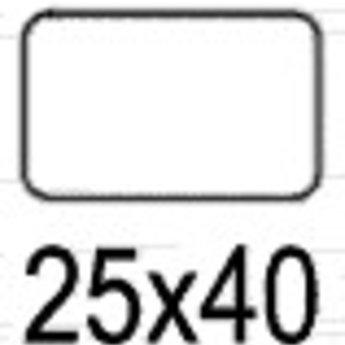 Apli Apli-nr. 01895  mapje removable 25x40 mm -  56st