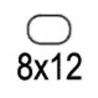Apli Apli-nr. 01857  mapje universele permanente etiketten  8x12 mm - 3375st