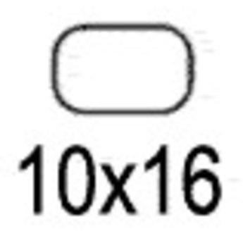 Apli Apli-nr. 01859  mapje universele permanente etiketten 10x16 mm - 2040st