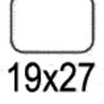 Apli Apli-nr. 01865  mapje universele permanente etiketten  19x27 mm - 735 stuks.