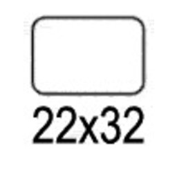 Apli Apli mapje permanent 22x32 mm - 540st