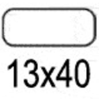 Apli Apli-nr. 01862  mapje universele permanente etiketten  13x40 mm - 750st