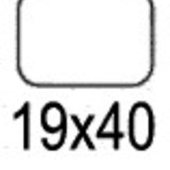 Apli Apli-nr. 01866  mapje universele permanente etiketten  19x40 mm - 525st