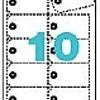 Apli Labels 98x57mm wit 200grs 10 vel a 10st