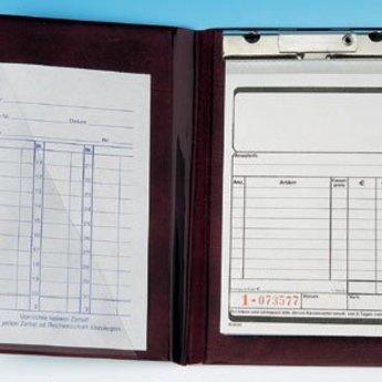 Bonboekje DUITS neutraal  10x15 cm. 2 x 50 pagina's per blokje. Nummering 1-50. Boekjes zijn per 10 stuks in wikkel verpakt. Papier is wit eco 48,8 gr/m