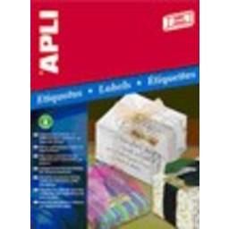 Apli Apli gold inkjet  labels 63.5x29.6mm