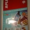 Apli Labels 99x210mm wit 200grs 10 vel a 3stu