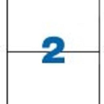 Apli Apli-nr. 01264  Laser/inkjet/kopieer-etiketten op A4 vellen, etiketafmeting 148x210mm  100 vel