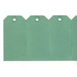 Labels 60x120 mm groen 1000st