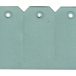 Labels 60x120 mm blauw 1000st