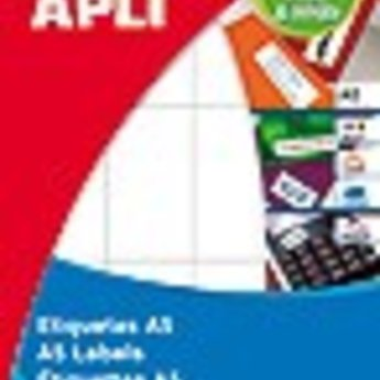 Apli Apli-nr. 01875 mapje universele permanent etiketten  34x67 mm - 180st