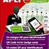 Apli QR Code kit for badge cards- Micro-perfo
