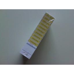 Consumptiestrippenkaarten GEEL blok 50