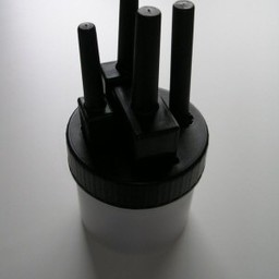 Plekolit Plekolit stiftpot zwart -4 stiften breed