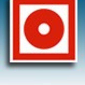 Apli APLI Signs - Nr. 10949 - Alarm - afmeting 114x114mm zelfklevend
