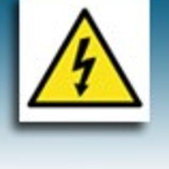 Apli APLI Signs - Nr. 10951 - Danger (Electricity) - afmeting 114x114mm zelfklevend