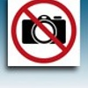 Apli Pictogram  Verboden voor gebruik camera