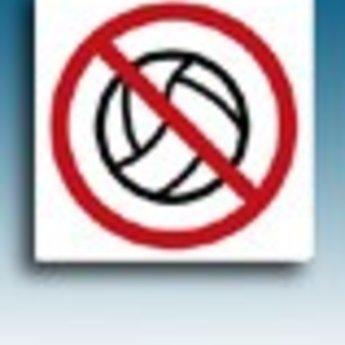 Apli APLI Signs - Nr. 11338 - Forbidden to play - afmeting 114x114mm zelfklevend