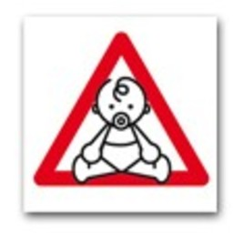 Apli Pictogram  Baby on board