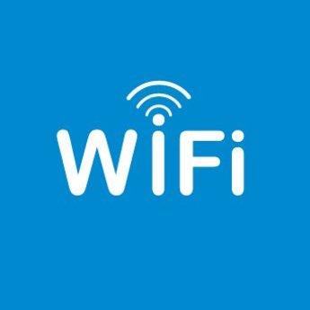 Apli APLI Signs - Nr. 12132 - WiFi Zone - afmeting 114x114mm zelfklevend