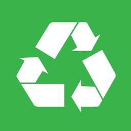 Apli Pictogram  Recycled