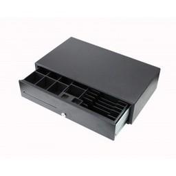 Geldlade breed zwart 24V 1A - breedte 50