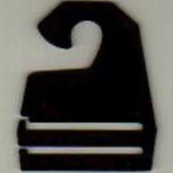 Dashanger breedte 44 mm zwart / Dassenclips       100st