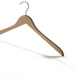 Houten hanger 43cm knik zonder rokinkep