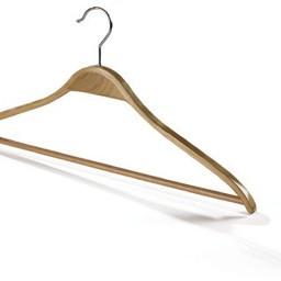 Houten gelaagde hanger 44cm + broeklat