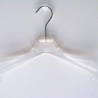Hanger gebogen transparant 32cm doosinhoud 230 stuks