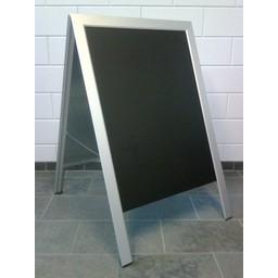 Stoepbord A1 Elegant zwarte krijtplaat