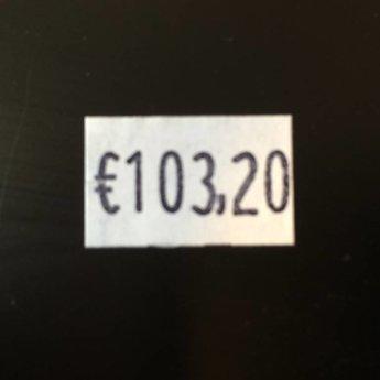 Blitz Prijstang BLITZ M6 -grote afdruk- 1-regelige prijstang met een afdruk op het midden van het etiket