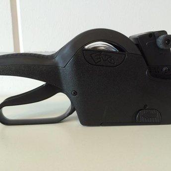 Evo Prijstang Evo 2612-6 voor afdruk van 6 posities op etiketmaat 26x12mm.