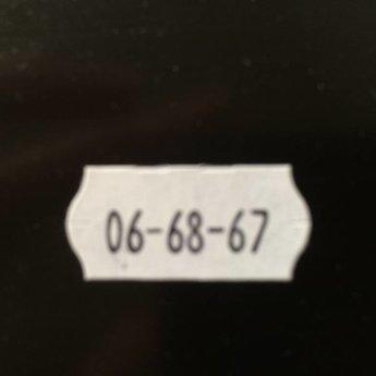 Evo Prijstang Evo 2612-8 voor afdruk van 8 posities datumafdruk of prijs €23456.78
