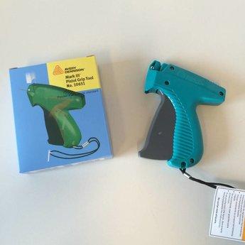 Dennison Textieltang Avery Dennison S MK-III free pitch, PG pistol grip, zit in blauw doosje.