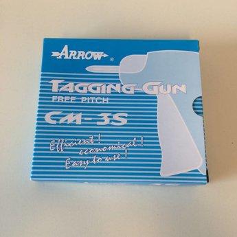 Arrow Textieltang ARROW 3S -standaard uitvoering, geschikt voor textielpins standard / regular met 50 of 100 of 120 stuks per clip.
