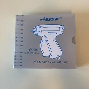 Arrow Textieltang ARROW 5S -standaard uitvoering, geschikt voor textielpins standard / regular met 50 stuks per clip.