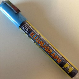 ZIG Illumigraph ZIG Illumigraph PMA-510 krijtstift blauw