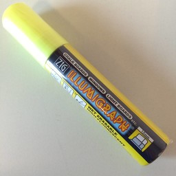 ZIG Illumigraph ZIG Illumigraph PMA-720 krijtstift geel
